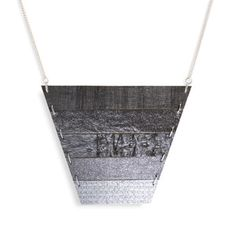 Strata Necklace Gunmetal now featured on Fab.