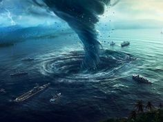 The Bermuda Triangle is perhaps one of the most mysterious and fearsome waterways in the entire world. For centuries, this region, located between Florida, Bermuda and Puerto Rico, has been the final . Bermuda Triangle Facts, Le Triangle, Porto Rico, Mysteries Of The World, Ancient Mysteries, Unexplained Mysteries, Mysterious Places On Earth, Lac Rose, Rio De Janeiro