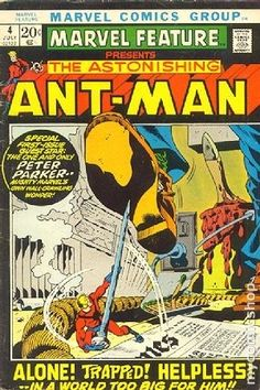 MARVEL FEATURE 4, ANT-MAN, BRONZE AGE MARVEL COMICS