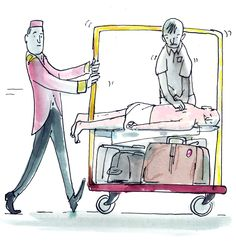 For the on-the-go traveler, 10-minute massages and 12-minute hand and nail treatments, all without having to wear a robe.