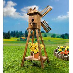 Větrný mlýn | Magnet 3Pagen #magnet3pagen #magnet3pagen_cz #magnet3pagencz #3pagen #decoration Bird, Outdoor Decor, Home Decor, Gardens, Windmill, Decoration Home, Room Decor, Birds, Home Interior Design