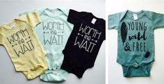 Graphic baby bodysuit