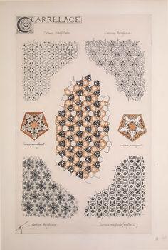 geometry matters — Esquisses Décoratives – René Binet Binet's study...