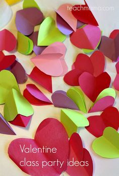 Valentine's Day Class party ideas: cool activities to get kids moving and creating