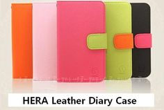 HERA diary case for iPhone 5 at U$12.88