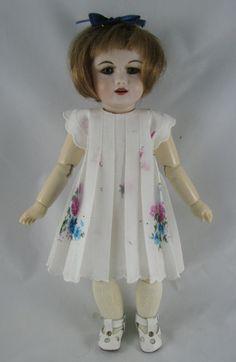Vintage Hankie Dress for Bleuette Dolls by DreamingofDolls on Etsy