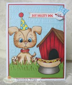 Hot Diggity Dog! ~ Peachy Keen Stamps Inspiration