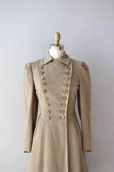 1930's Military Inspired Coat