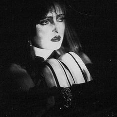 The lovely Siouxsie Sioux of course.