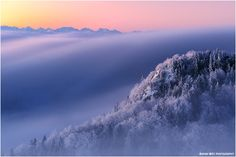 Before Sunrise on the Swiss Jura by Adrian Wirz on 500px