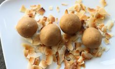 My kid loves these! They are a great snack that you can prepare beforehand and grab and go. You can interchange the peanut butter with any nut butter you'd like! I've used almond and sunflower butter in the past, too. Also you can roll them in some shredded coconut for added texture.…