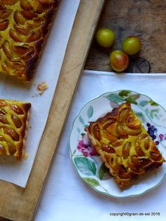grain de sel - salzkorn: erinnerungsträchtige Mirabellen-Tarte