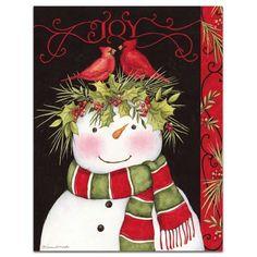 """Snowman Joy"" by Susan Winget"