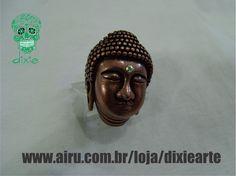 Anel Máxi Buda - R$ 60,00  www.airu.com.br/loja/dixiearte