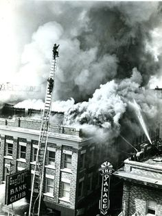The Golden Hotel burns in 1962 and kills six people