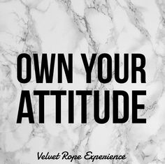 "Part of my message last week was ""OWN YOUR  ATTITUDE"". Stop saying other people are the reason you feel this way or that way. The truth is no one and I mean NO ONE is responsible for how you feel other than you!  You make a conscious choice to be happy, sad or indifferent based on your encounters and experiences. Chose better experiences! Follow us on IG for more..."