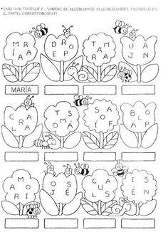 Archivo de álbumes Alphabet Activities, Language Activities, Preschool Activities, Maths Puzzles, Spanish Lessons, Album, Coloring Sheets, Kids Rugs, Education