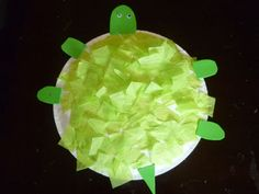 Save Green Being Green: Try-It Tuesday: Easy Turtle Craft