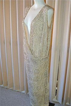 early 1920s gown