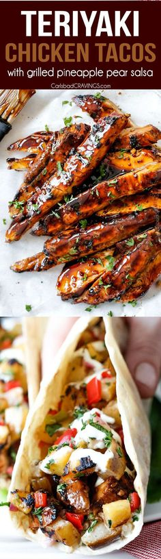 ... tacos with grilled poblano salsa recipes dishmaps grilled shrimp tacos