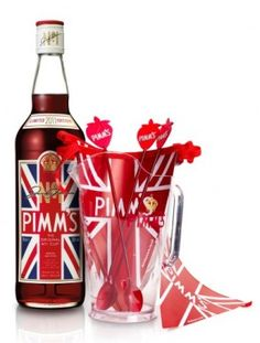 Party Patriotically via Blue Tomato - Pimm's summer party pack - the quintessential British summer bevvie.