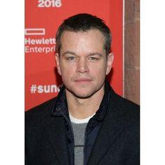 Matt Damon At Arrivals For Manchester By The Sea Premiere At Sundance Film Festival 2016 Canvas Art - (16 x 20)