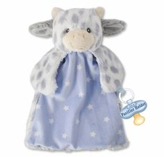 Gift Craft Lil Lamb 4 x 14 Inch Polyester Plush Lovey Blanket