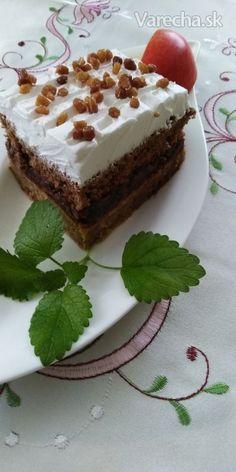 Jablkový koláčik s pudingom (fotorecept) Tiramisu, Sweets, Ethnic Recipes, Food, Hampers, Gummi Candy, Candy, Essen, Goodies