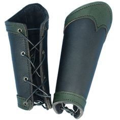 Leather Arm Bracers, Wrist Bracers and Arm Bracers by Medieval Armour- Tat Inspiration