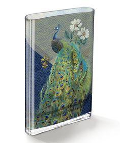 Loving this Mattie Arcadia Peacock Vase on #zulily! #zulilyfinds