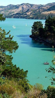Banks Peninsula, near Christchurch, New Zealand