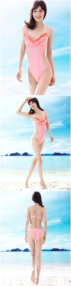 Women Summer Lovely Heart Print Flounced Neck Halter Padded Top Triangle Bottom Seductive One Piece Conjoined Swimsuit http://www.amazon.co.uk/s/ref=sr_il_ti_merchant-items?me=AWH6KY5XWWO07&rh=i%3Amerchant-items&ie=UTF8&qid=1437444423&lo=merchant-items