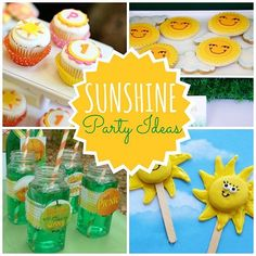 Sunshine Party Ideas | Spoonful