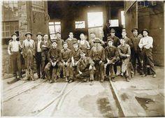 Colorado Midland ~ Shop Workers ~ Colorado Springs Colorado ~ 1903