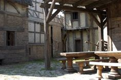 Medieval Town || BBC RH set