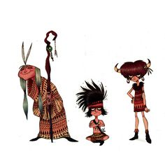 APACHE SKETCHES by Olivier SILVEN, via Behance ✤    CHARACTER DESIGN REFERENCES   キャラクターデザイン   çizgi film • Find more at https://www.facebook.com/CharacterDesignReferences & http://www.pinterest.com/characterdesigh if you're looking for: #grinisti #komiks #banda #desenhada #komik #nakakatawa #dessin #anime #amazon #manga #bande #dessinee #BD #historieta #sketch #jungle #cartoni #animati #comic #tribal #savage #cartoon    ✤