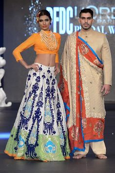 Ali Xeeshan Bridal Collection PFDC L'Oreal Fashion Week 2013