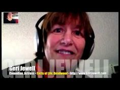 Cerebral Palsy never derailed comedian Geri Jewell's determination! (2013 Video Interview)