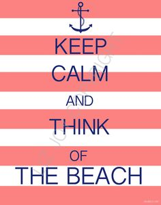 Summer Keep Calm Quote
