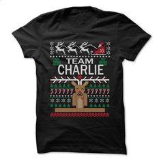 Team CHARLIE Chistmas - Chistmas Team Shirt ! - #tshirt customizada #hoodie for teens. CHECK PRICE => https://www.sunfrog.com/LifeStyle/Team-CHARLIE-Chistmas--Chistmas-Team-Shirt-.html?68278