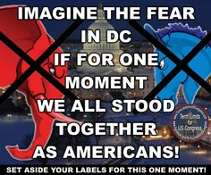 Agree! Vote TED CRUZ and you'll see that fear. Both parties hate him, which means he stands for the people! Wake up!!