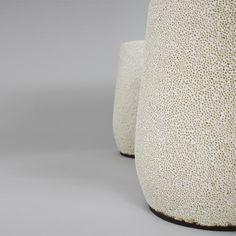 Tabouret Lightweight en porcelaine allégée par Djim Berger - Blog Esprit Design @espritdesign