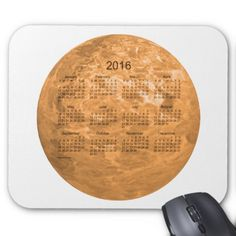 2016 Copper Calendar by Janz Mousepad