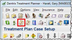 Viewing Primary (and/or Secondary) Insurance Notes in the Treatment Planner