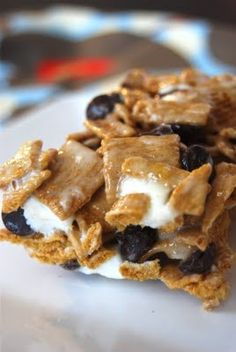Golden Graham SMore Bars realsimple