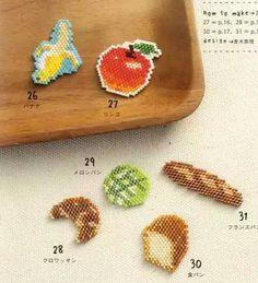 Awesome Apple en perles MIYUKI et si ça vous inspire retrouvez tout le matériel nécessaire sur https://la-petite-epicerie.fr/fr/720-perles-miyuki-brickstitch-peyote-acheter-pas-cher