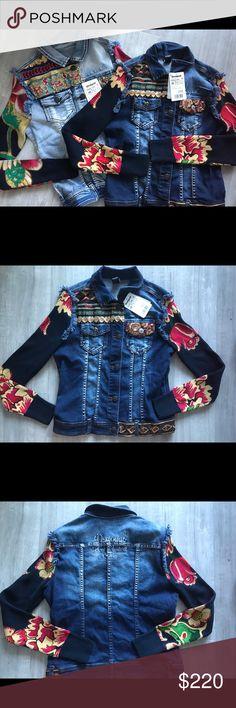 BOGO desigual denim jacket Buy one get one 50% off.  Price for each 156,95. Both 220 Desigual Jackets & Coats Jean Jackets