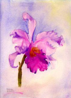 orchid by Maria Deysi-Rivero