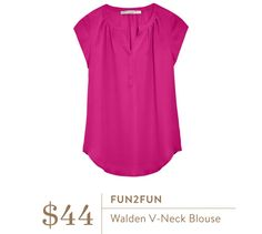 Jessica- this color is gorgeous! Neckline is great, love this top.