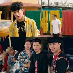 Cuál fue su parte favorita del vídeo? 💛❤️ #CNCO #PrinceRoyce #LlegateTu #JoelPimentel Memes Cnco, Cnco Richard, Latin Artists, Prince Royce, Just Pretend, Latin Music, My Boys, Boy Bands, Beautiful Men